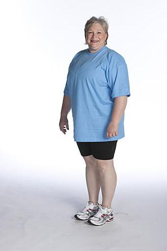The Biggest Loser Season 8 Liz Before