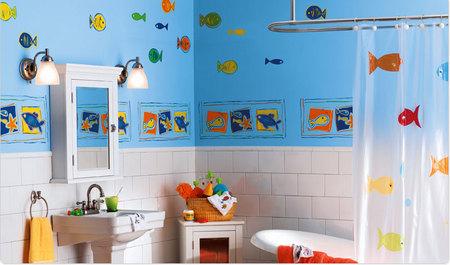 The High Seas - Children's Bathroom