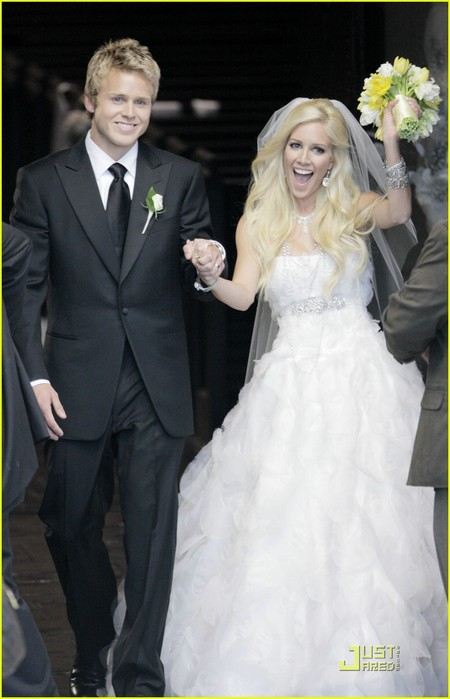 Heidi Montag and Spencer Pratt married