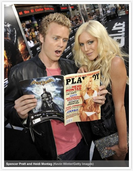Heidi Montag poses for Playboy