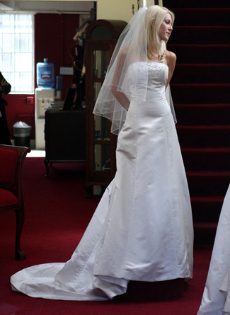 Heidi Montag&#039;s wedding dress