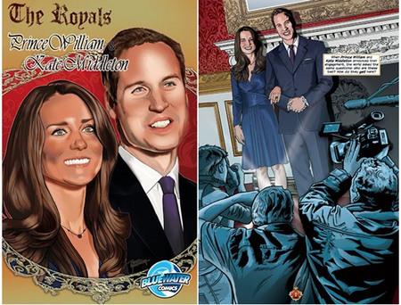 The Royals comic book