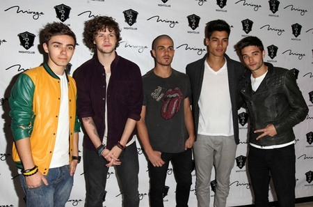 The Wanted keep it casual