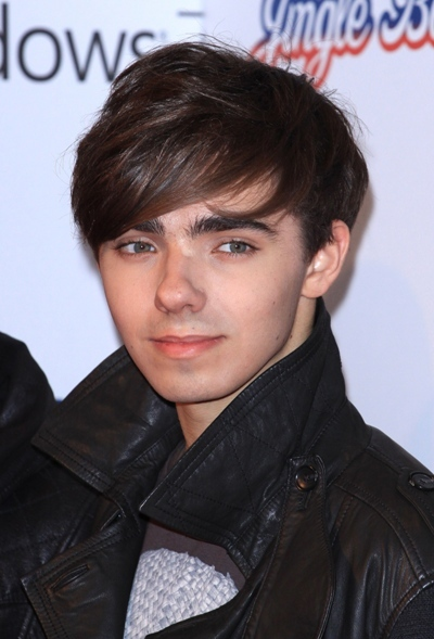 Band member Nathan Sykes looking cute