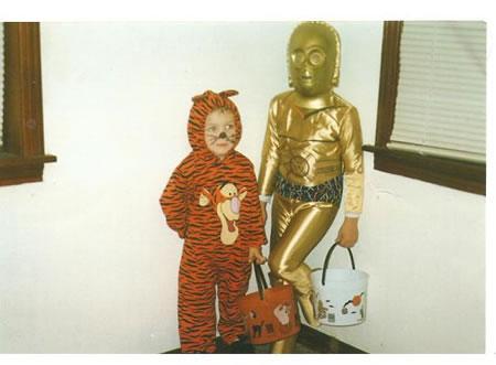 Tigger and C3PO