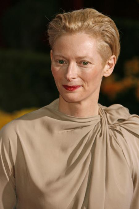 Tilda Swinton wearing Lanvin
