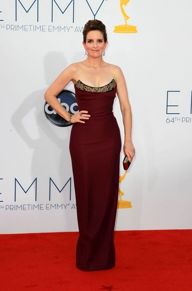 Tina Fey steps up her game at Emmys