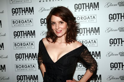 Tina Fey at Gotham Magazine's gala