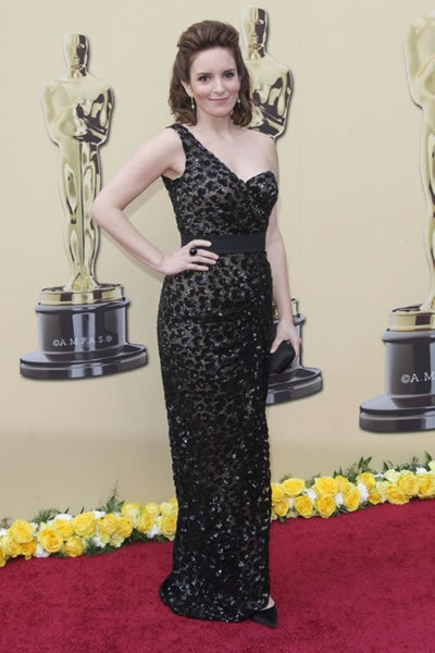 Tina Fey at Academy Awards