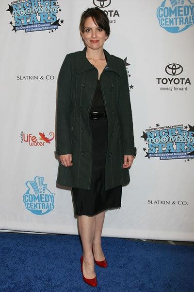 Tina Fey at Night of Too Many Stars