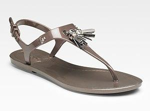 Tod's Rubber Thong Sandals