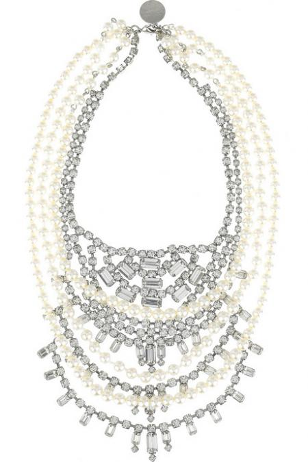 Tom Binns Pearls in Pearl Necklace