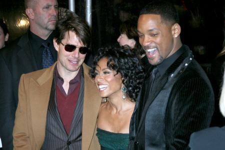 Tom Cruise, Jada Pinkett Smith and Will Smith