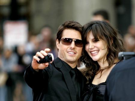 Katie Holmes & Tom Cruise (2006)