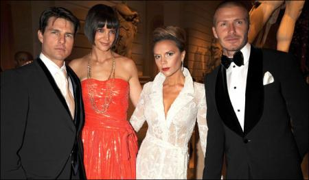 The Cruises and the Beckhams at the Met Gala