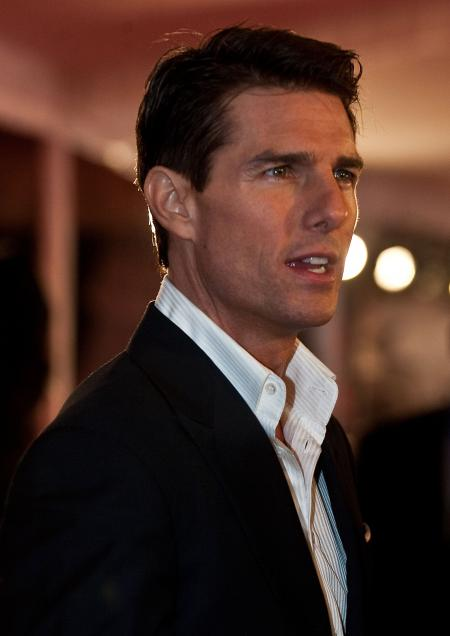 Tom Cruise looking handsome
