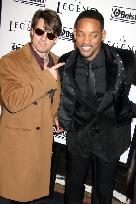 Tom Cruise and Will Smith clown around