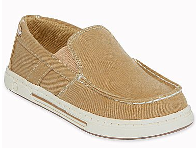 Boy's canvas slip-on