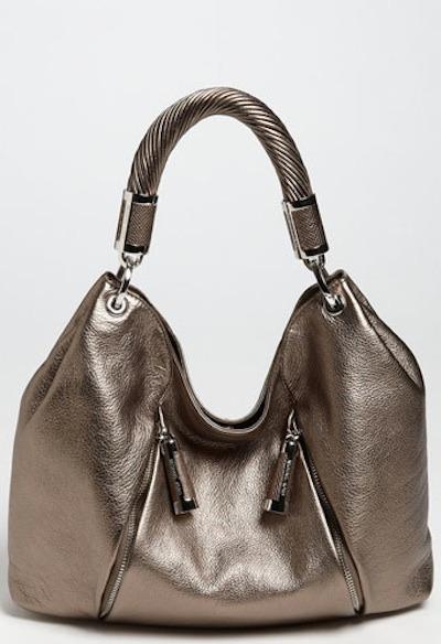 Tonne leather hobo