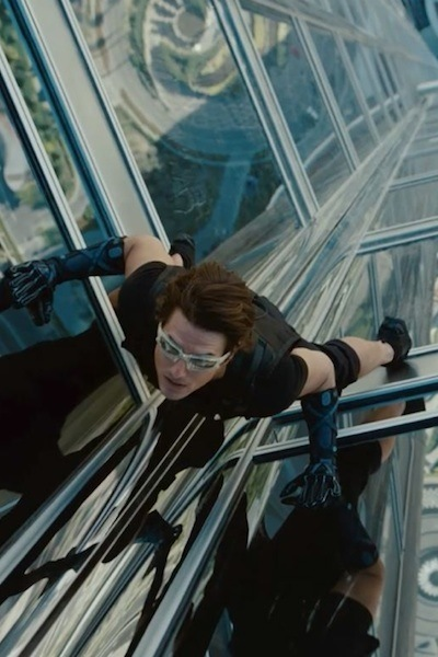 No. 4 -- Mission Impossible: Ghost Protocol