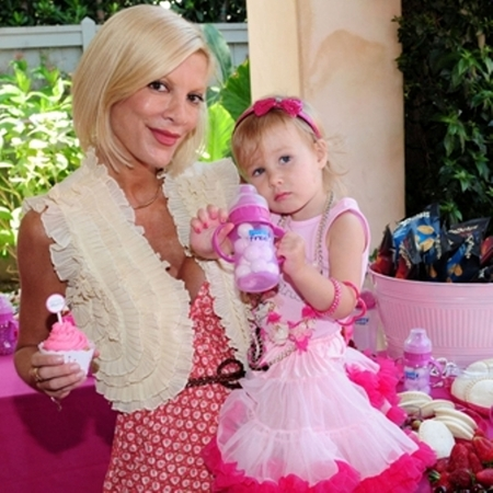 Tori Spelling, Stella, birthday party