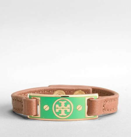 This Tory Burch Enamel i.d. bracelet is definitely arm candy!
