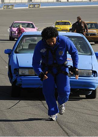 Toughest Biggest Loser Workouts Season 7 Filipe and Sione Pulling a Car