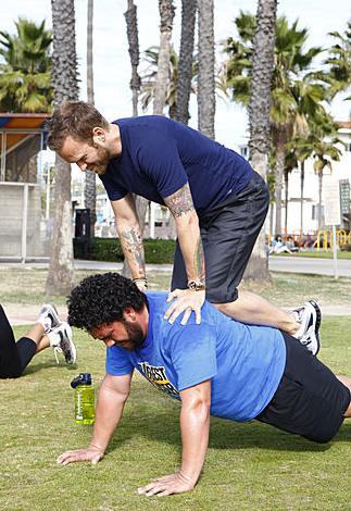 Toughest Biggest Loser Workouts Season 7 Sione and Bob