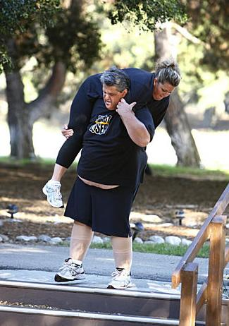 Toughest Biggest Loser Workouts Season 8 Abby and Danny