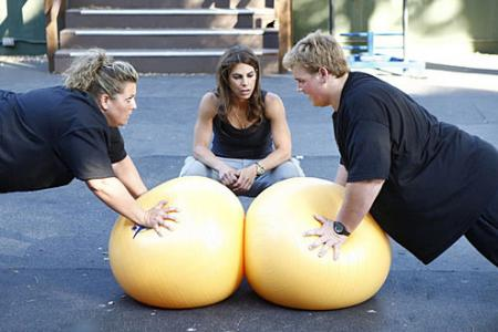 Toughest Biggest Loser Workouts Season 8 Abby and Daniel