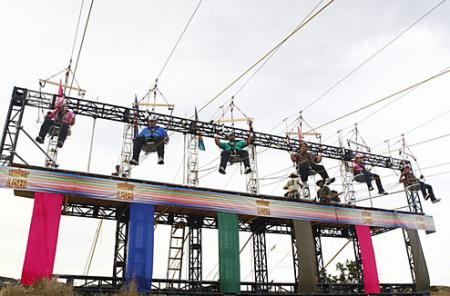 Toughest Biggest Loser Workouts Season 8 Contestants on Ropes