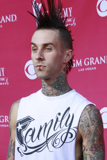 Travis Barker, drummer of Blink-182