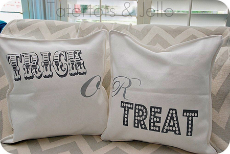 Trick-or-Treat pillows