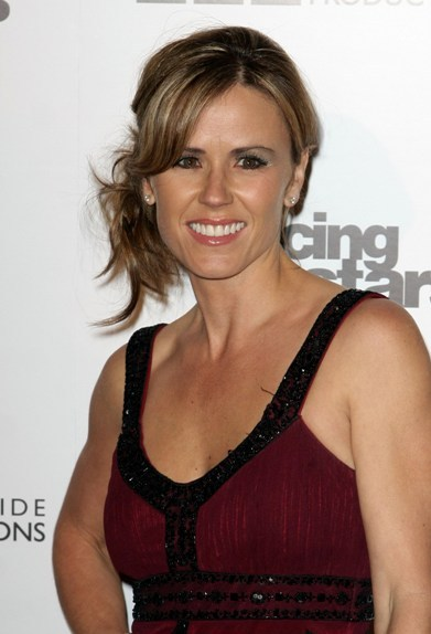 Trista Sutter's Messy Hairstyle