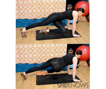 Plank with a twist