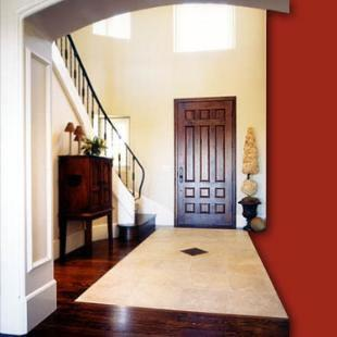Consider the angles in your foyer