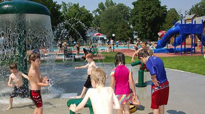 Tyler Place Family Resort - Highgate Springs, VT - Splash Pad