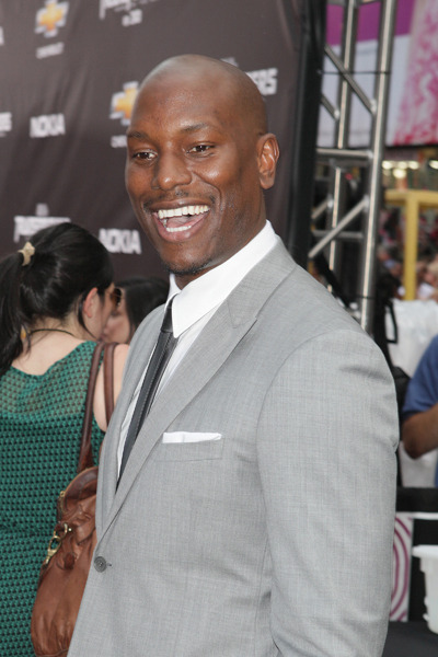 Tyrese Gibson and the NYC Transformers premiere. PHOTO CREDIT: WENN.com