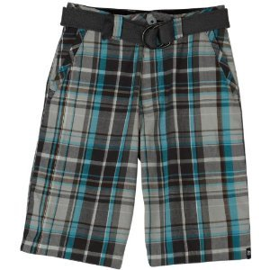 UNIONBAY Boys Higgins Yarn Dye Cargo Shorts
