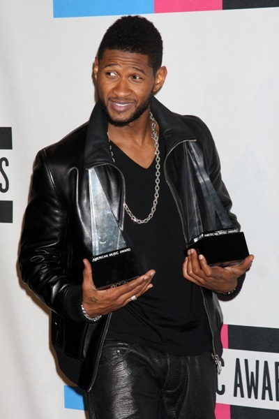Usher takes it home