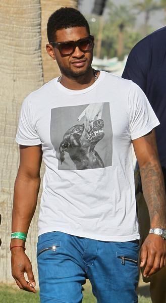 Usher at Coachella