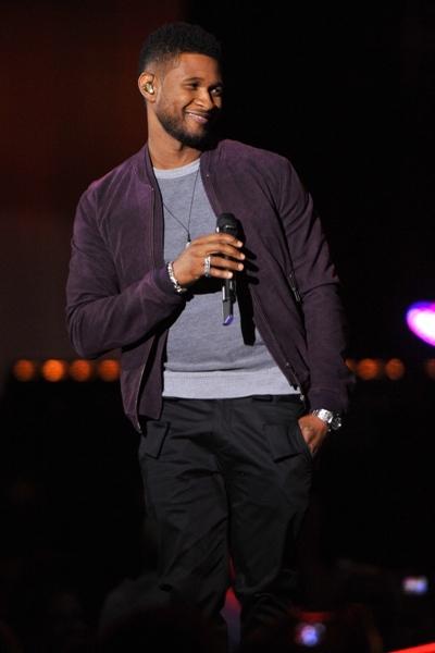 Usher surprises Oprah