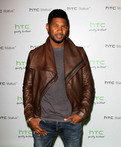 Usher attends Paramount luncheon