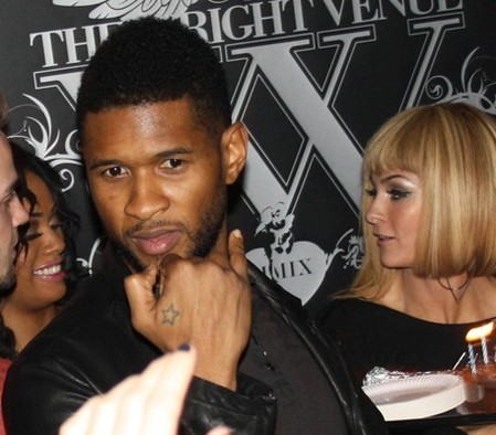 Usher does it the Wright way