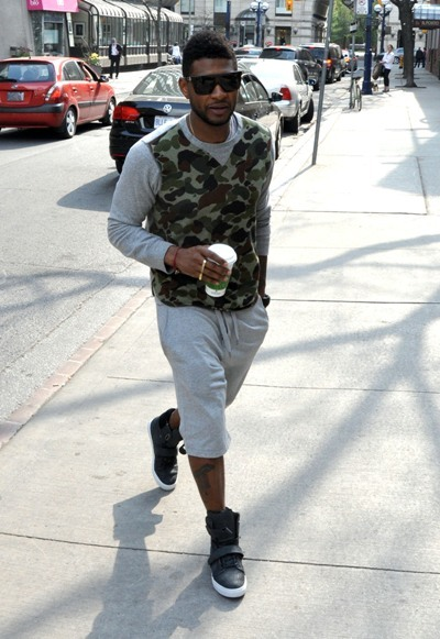 Usher refrehses in Toronto