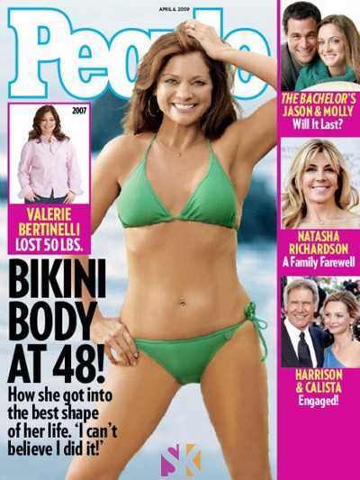 Valerie Bertinelli after losing weight