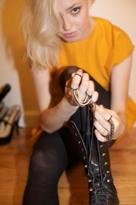Valerie Rubinaccio Chain Rings