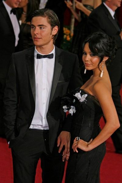 Vanessa Hudgens and Zac Efron