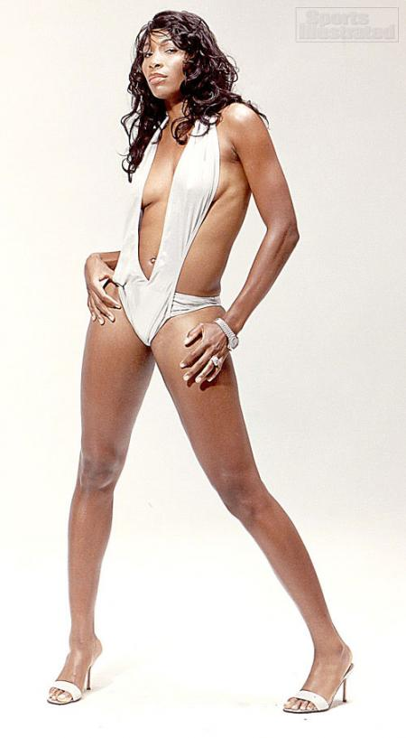 Venus Williams in the 2005 SI Swimsuit EditionVenus Williams Body Measurements