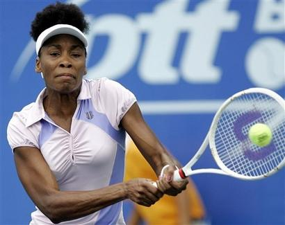Venus Williams at the 2007 Bangkok Open